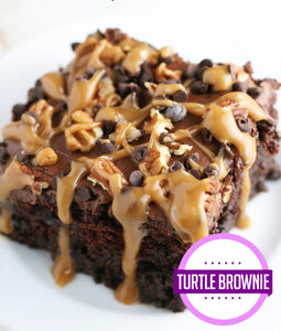 Turtle Brownies