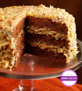 German Chocolate Layer Cake