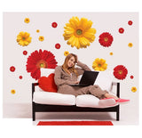 3D Daisy Flowers Wall Stickers (1 Set)