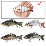 "Artificial Life-like Swimming Action 4"" Fishing Lure"