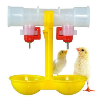 Automatic Double-Headed Drinker for Chickens/Poultry/Birds