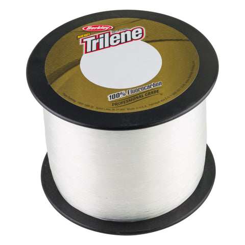 "Berkley Trilene 100% Fluorocarbon Professional Grade Line Spool 2000 Yards, 0.015"" Diameter,15 lbs Breaking Strength, Clear"