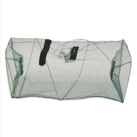 Collapsing Portable Nylon Mesh Crab Trap