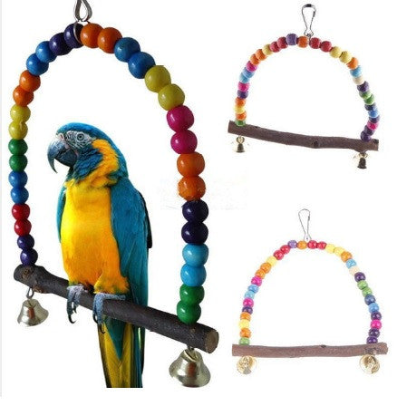 Colorful Bird / Parrot Swing Toy