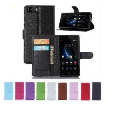 Doogee X5 Wallet Case with Stand Function