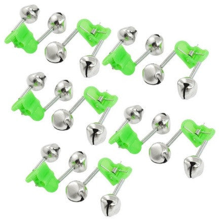 Fishing Rod Clip-on Double Alarm Bells (10 Pack)