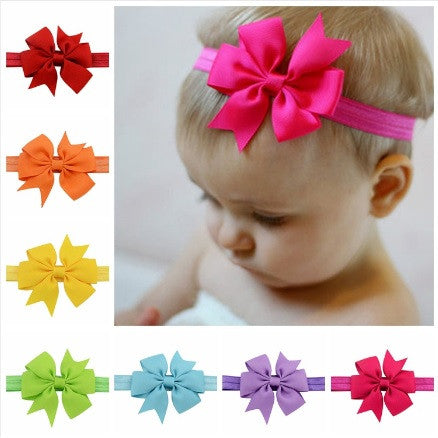 Infant Baby Girl Kids Headbands with Bow
