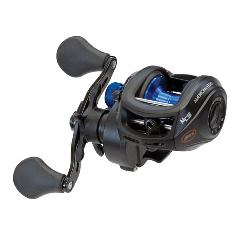 Lew's Fishing American Heroes Speed Spool MCS Left Hand Baitcaster Fishing Reel
