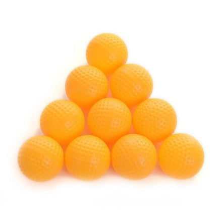 Plastic Training Practice Golf Balls (10 Balls)