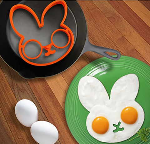 Silicone Rabbit Shaped Mold for Fried Egg