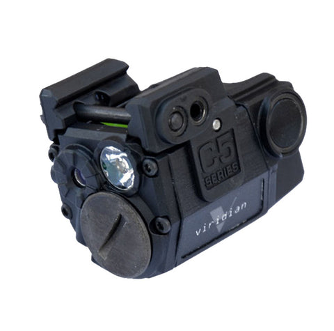 Viridian Weapon Technologies Universal Sub-Compact Green Laser w/Tactical Light 100 Lumens (140 Lumen Strobe)