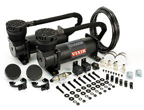 "VIA480C ""Stealth Black Dual Pack"" (2) 480C 200psi ""BLACK"" Compressors"