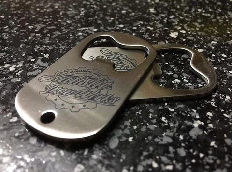 Sadistic Iron Werks Bottle opener key chain