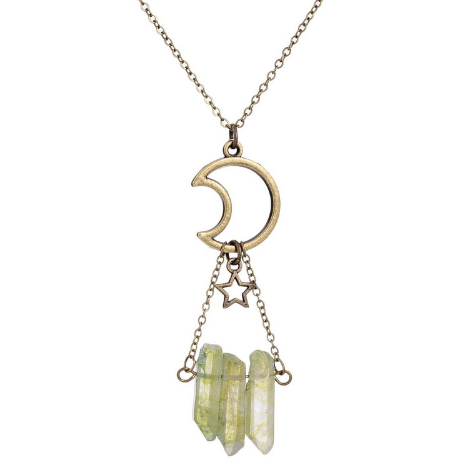 Moon Star Necklace - Guleria Store