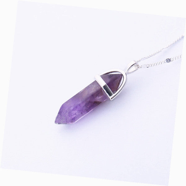 Quartz Pendant Necklace - Guleria Store