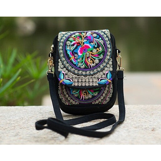 Boho Embroidered Bag - Guleria Store