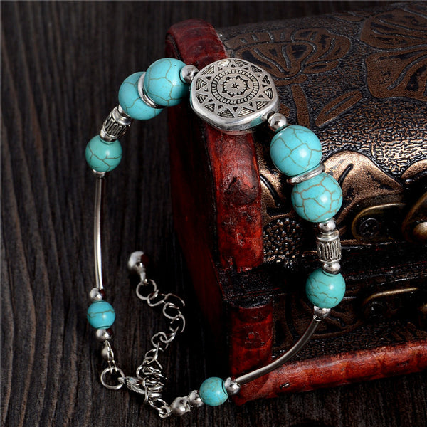 [Free Giveaway] Turquoise Bracelet - Guleria Store