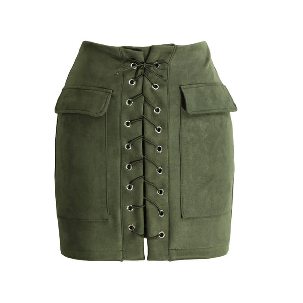 Rani Suede Skirt