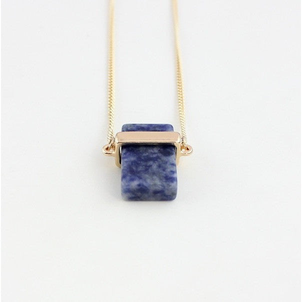 Natural Healing Stone Necklace - Guleria Store