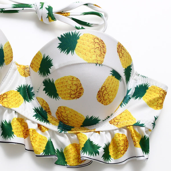 Fineapple Ruffle Swimsuit