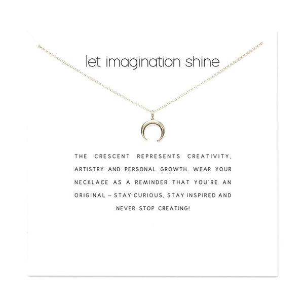 Imagination Necklace with Card