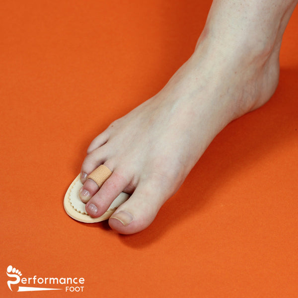 Performance Foot Budin Splint Hammer Toe Regulator Single or Double Toe