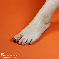 Performance Foot Eco Gel Tube Ribbed ( 2 tubes)