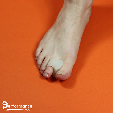 Performance Foot Gel Toe Spreader With Loop