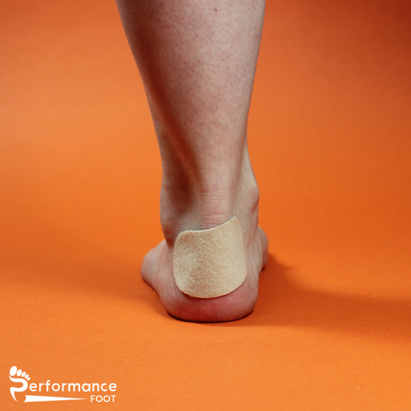 Performance Foot Kidney Shaped Moleskin Pads - 1/8 inch
