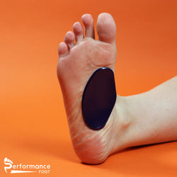 Performance Foot Gel Plantar Fasciitis Arch Pad Reusable 1/8 or 1/4 inch