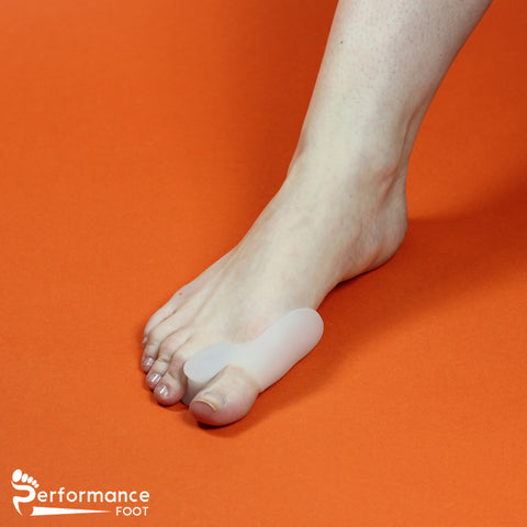 Performance Foot Gel Toe Spreader with Gel Bunion Pad Combination