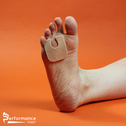 Performance Foot Felt U Shaped Callus Cushion Pad - 1/8th inch