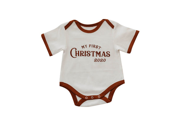 My First Christmas Romper 2020 PREORDER
