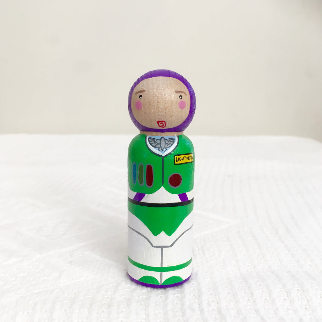 Toy Story Buzz Lightyear Peg Doll