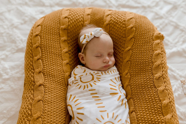Soleil Bamboo JERSEY Swaddle
