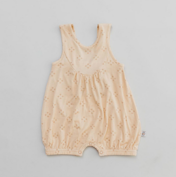 Bubble Romper - Bamboo - Vintage Sirocco