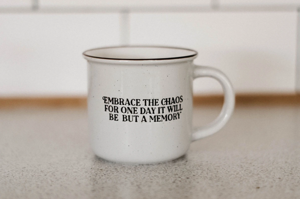 Embrace the Chaos Ceramic Mug