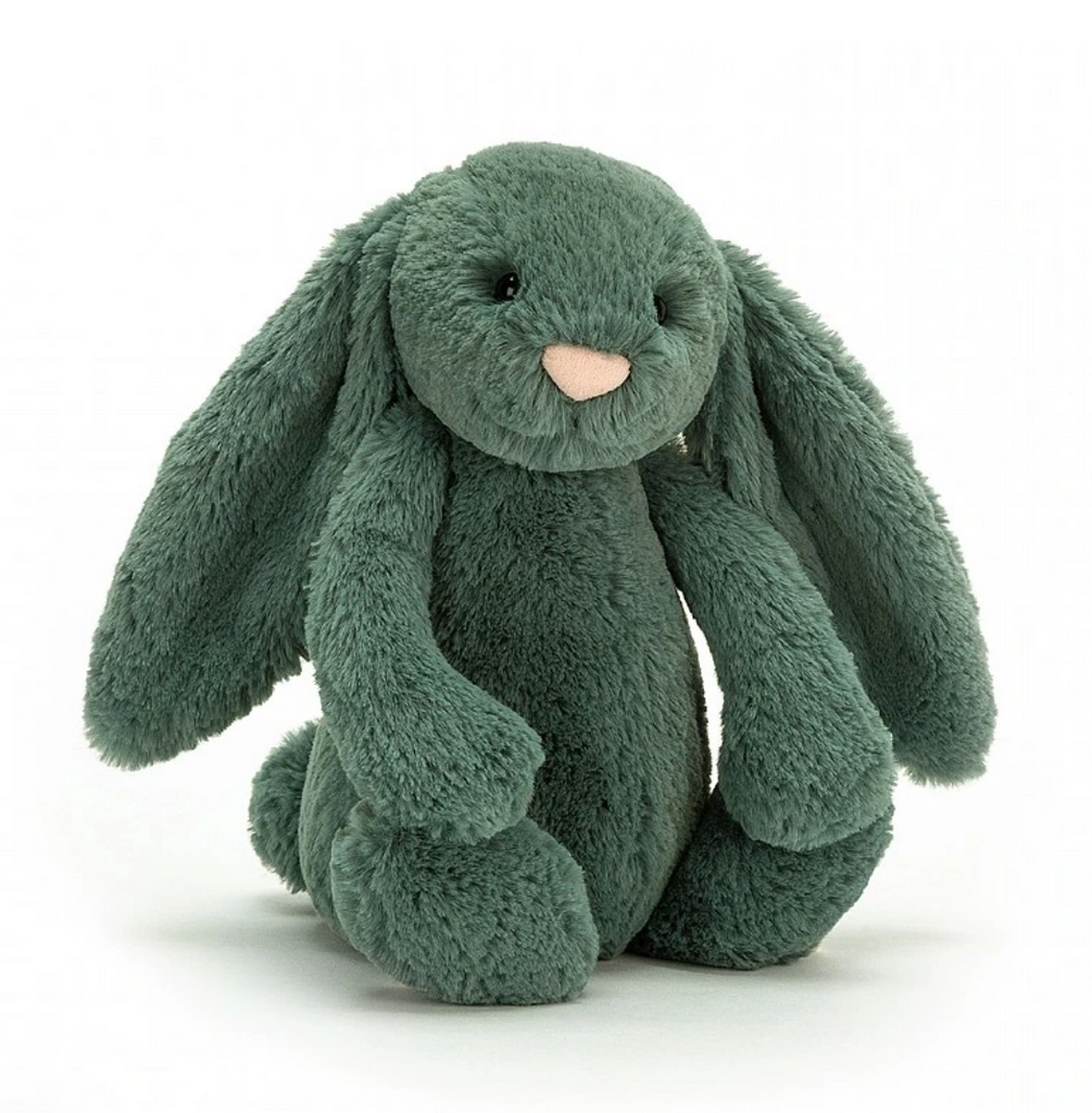 Jellycat Bunny Bashful - Forest - Medium