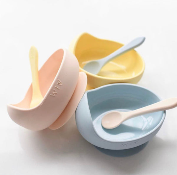 Silicone Suction Bowl Set