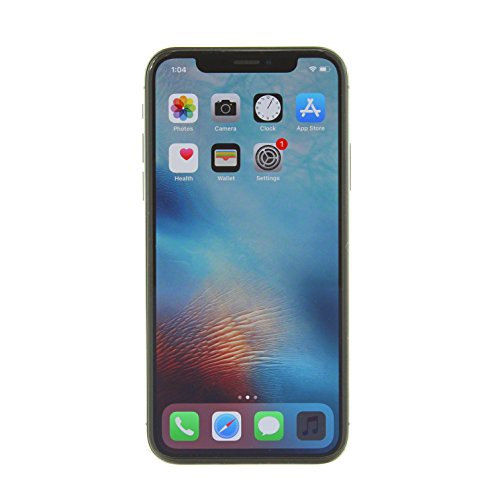 Apple iPhone X, GSM Unlocked, 256GB - (Refurbished)