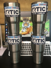 4 Pack RTIC 30oz Stainless Steel Double Wall Tumblers Free Shipping