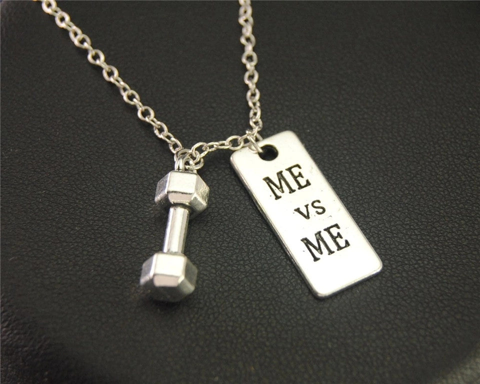 """Me vs Me Necklace"""