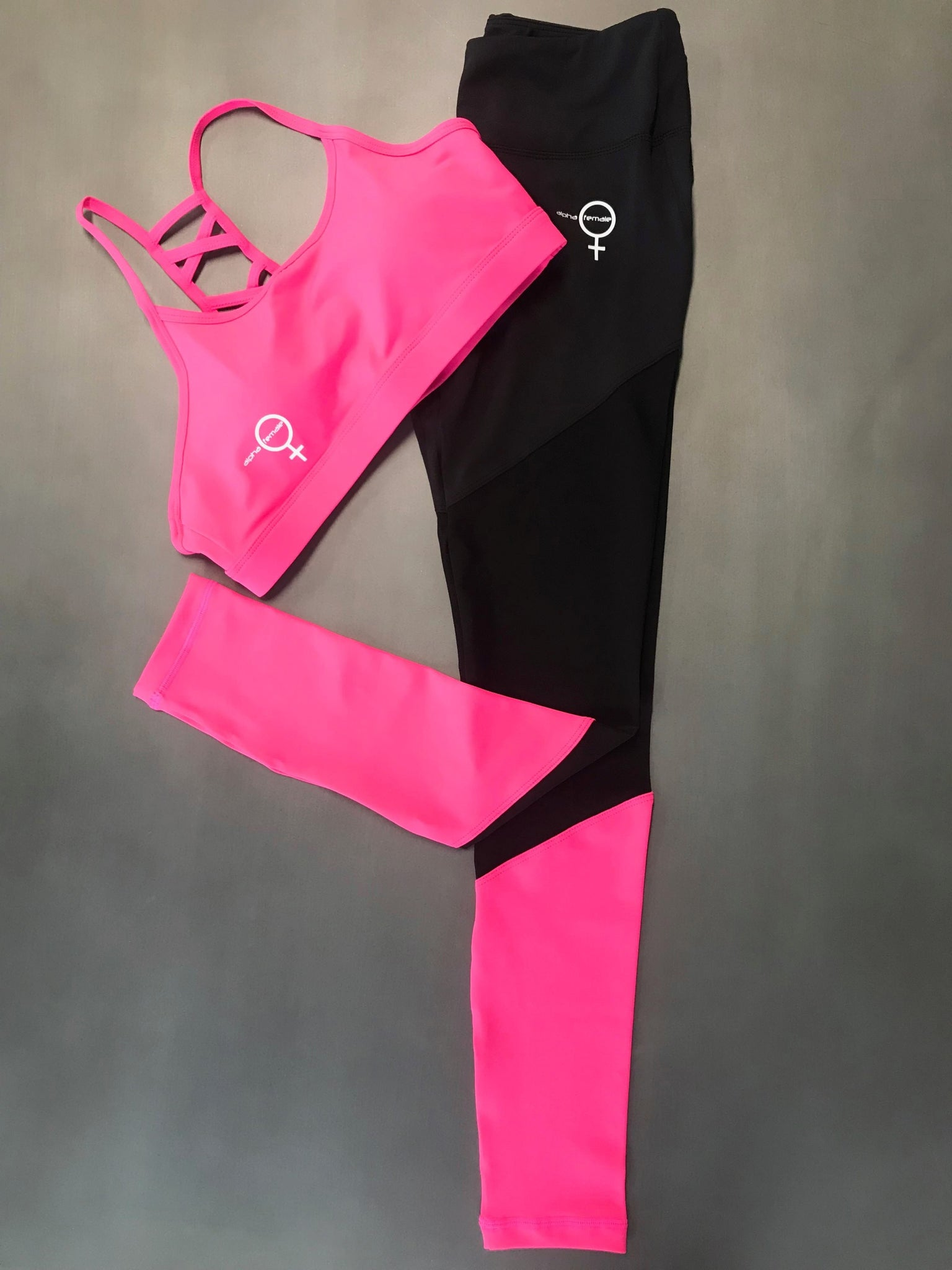 Alpha Ninja Tights - Hot Pink