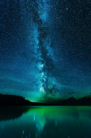 Galactic Reflection Jackson Lake
