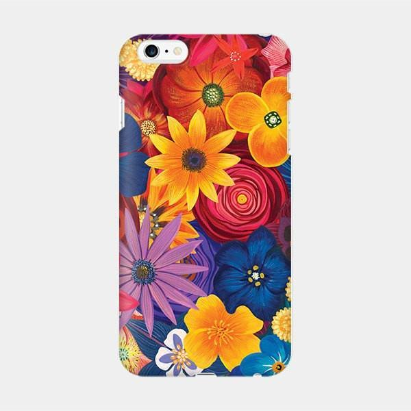 Bunch of Flowers - Floral iPhone Case Picograph YoannaLee_ Smartphone Case