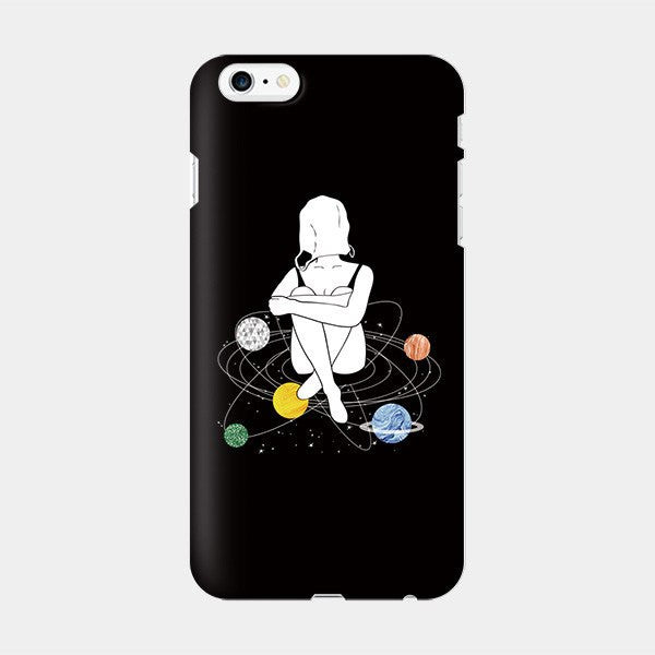 Empty Space - iPhone Case Picograph Byeol.k Smartphone Case