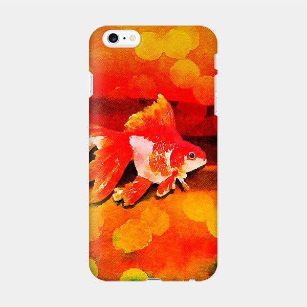 金魚花火 - Goldfish iPhone Case Picograph Hwang So Young Smartphone Case