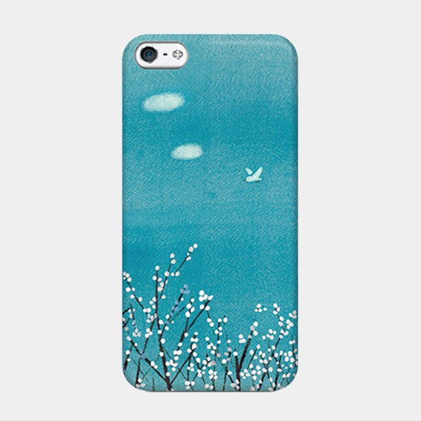 Pear Flowers, Blue Skies - iPhone Case Picograph Smartphone Case