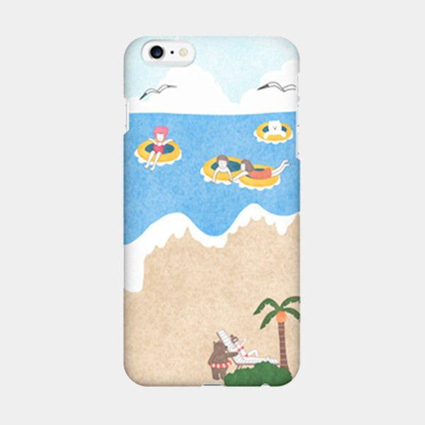 Seaside Story - iPhone Case Picograph Smartphone Case