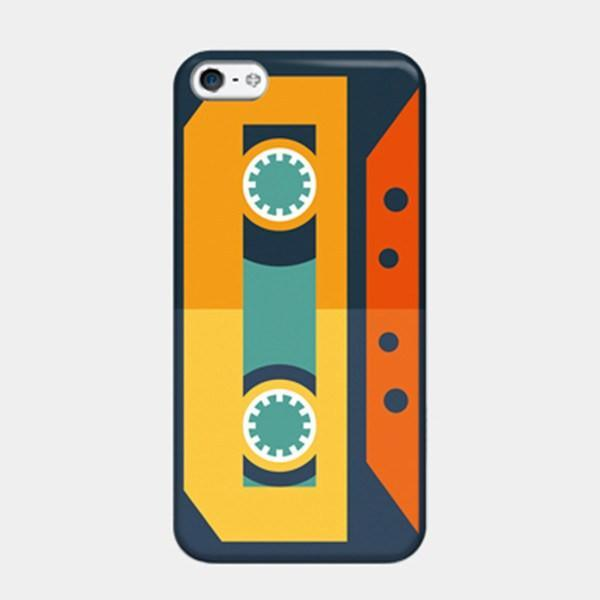 Cassette of Memories - Retro Vintage Style iPhone Case Picograph Smartphone Case